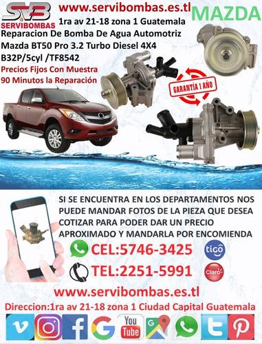 reparación de bomba de agua automotriz mazda bt50 pro 3.2