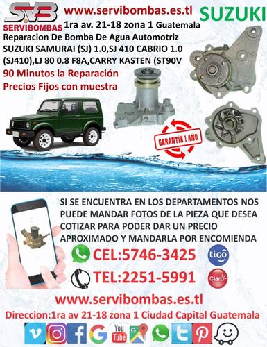 reparación de bomba de agua automotriz suzuki ignis fh 1.3 1