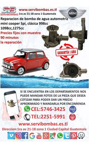 reparación de bomba de agua cherry qq 465 guatemala