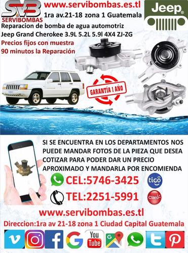 reparación de bomba de agua chery qq 1.0 308 guatemala