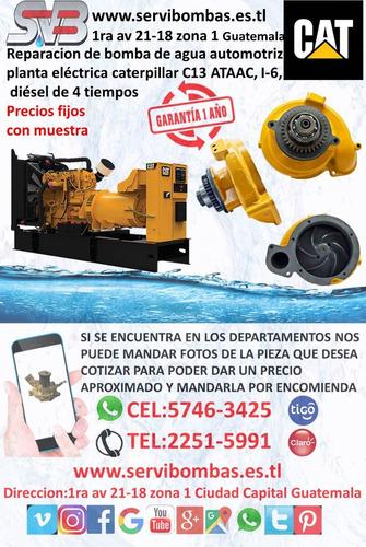 reparacion de bomba de agua detroit diesel serie 60 14 litro
