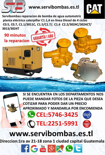 reparacion de bomba de agua ford l6-6.6 / l6-7.8