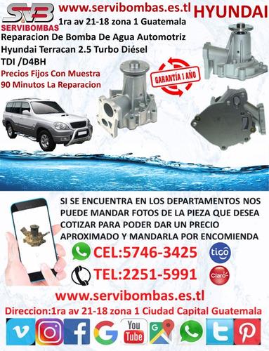 reparacion de bomba de agua hyundai grand i10 1.2 g4la  i20