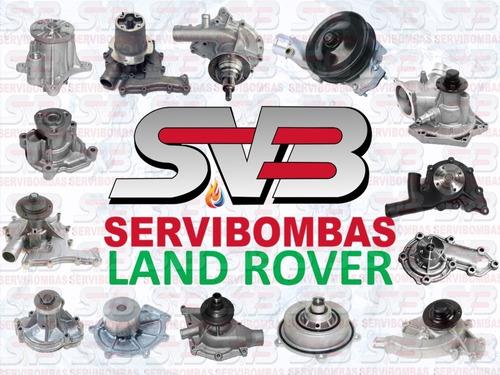 reparación de bomba de agua land rover discovery,range rover