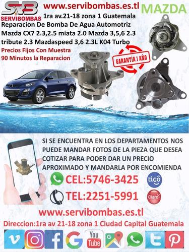 reparación de bomba de agua mazda bt50 pro 3.2 guatemala