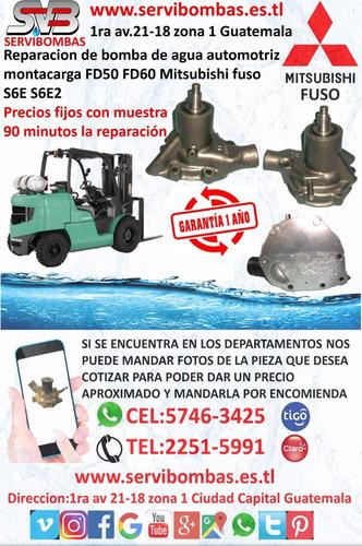 reparación de bomba de agua suzuki carry,cabrio,alto 1.0