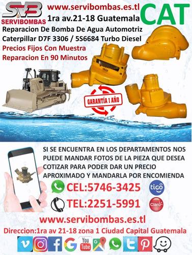 reparación de bombas de agua automotrices caterpillar 3176c