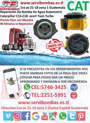 reparacion de bombas de agua automotrices caterpillar 4d