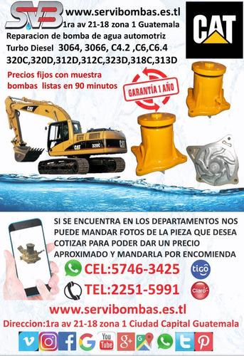 reparación de bombas de agua automotrices caterpillar d7f