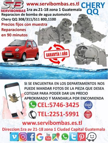 reparación de bombas de agua automotrices chery qq 1.0 308