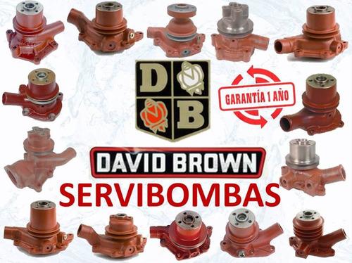 reparación de bombas de agua automotrices david brown