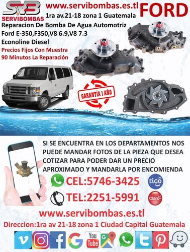 reparación de bombas de agua automotrices ford ranger 3.0