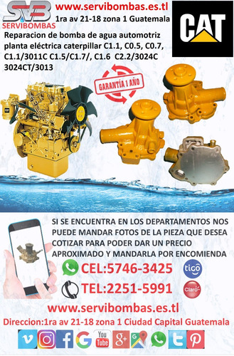 reparación de bombas de agua automotrices land rover td5