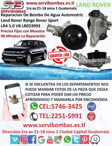reparación de bombas de agua automotrices land rover td5 gua