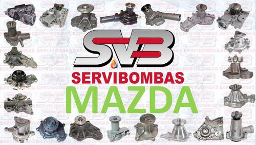 reparación de bombas de agua automotrices mazda guatemala