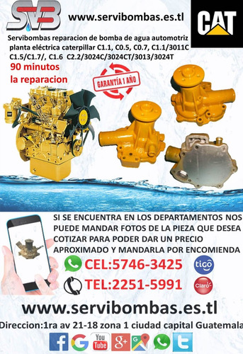 reparación de bombas de agua automotrices montacargas hyster