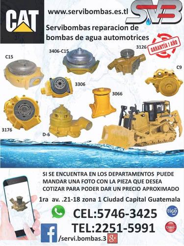 reparación de bombas de agua automotrices montacargas nissan