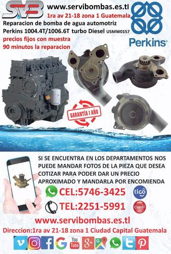 reparación de bombas de agua automotrices suzuki grand vitar