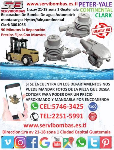 reparación de bombas de agua automotrices varica mitsubishi
