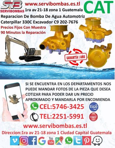 reparacion de bombas de agua caterpillar 4d dozer guatemala