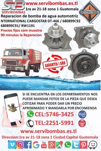 reparación de bombas de agua chery qq 1.0 308 guatemala