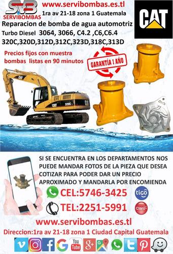 reparación de bombas de agua doosan daewoo dx300lc,dx380lca