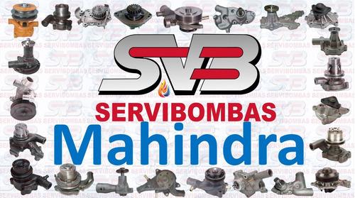 reparación de bombas de agua mahindra scorpio 2.5,2.6 turbo