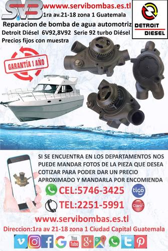reparación de bombas de agua mazda bt50 pro 2.2 guatemala