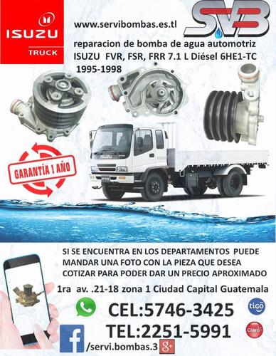 reparación de bombas de agua  mitsubishi canter 4m50,4m51,4.