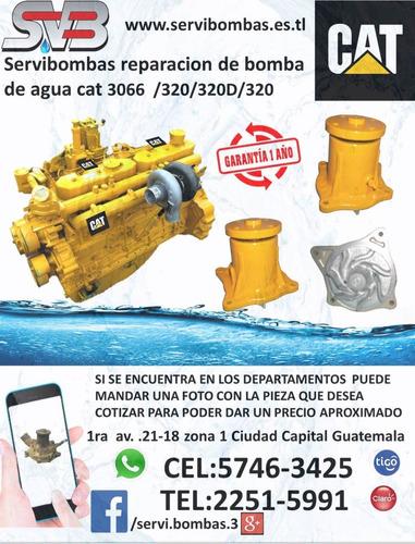 reparación de bombas de agua  mitsubishi fuso 6d16,6d15,6d14