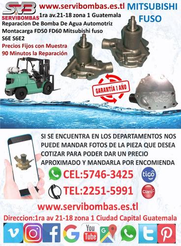 reparación de bombas de agua mitsubishi l200 2.5 sportero