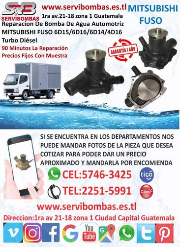 reparación de bombas de agua mitsubishi l200 4d56 2.5 turbo
