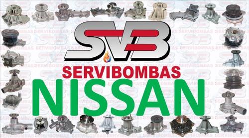 reparación de bombas de agua nissan 100nx,200zx guatemala