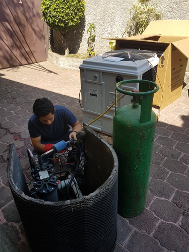 reparacion de bombas de calor y calderas para albercas