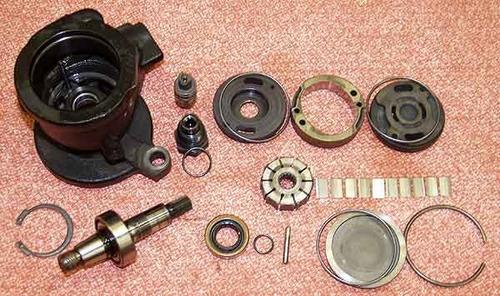 reparacion de bombas de direccion y cajetines hidraulicos