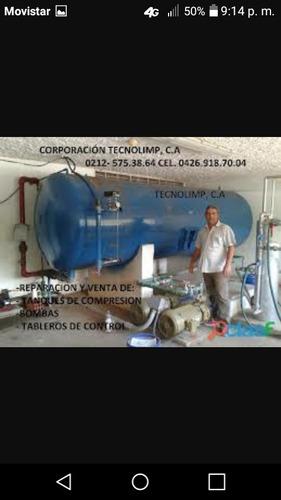 reparacion de bombas y tanques y tablet is hidronomatico