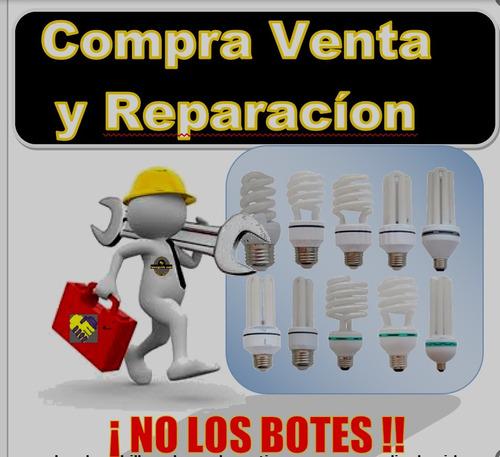 reparacion de bombillos ahorradores.