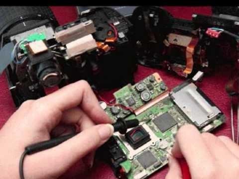reparacion de camaras digitales en tiempo record