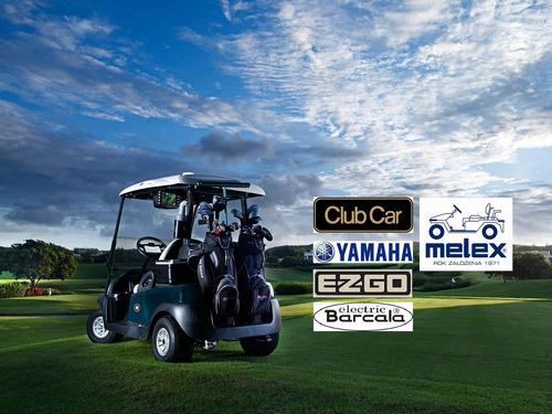 reparación de carros de golf melex club car ezgo yamaha