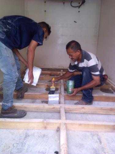 reparación de cavas isotérmicas en fibra de vidrio