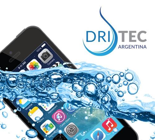 reparación de celular mojado - secado en el acto