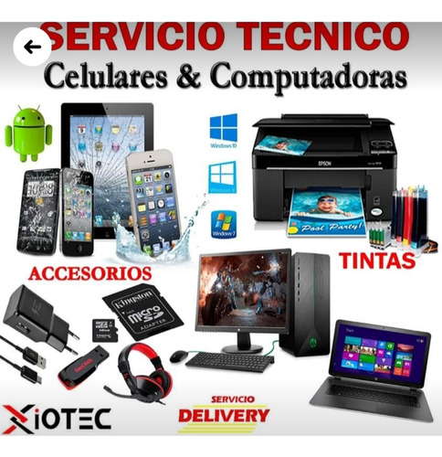 reparacion de celulares laptops pc