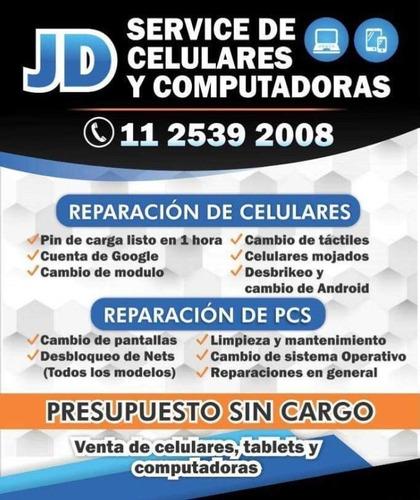 reparación de celulares, pcs, servicio técnico longchamps