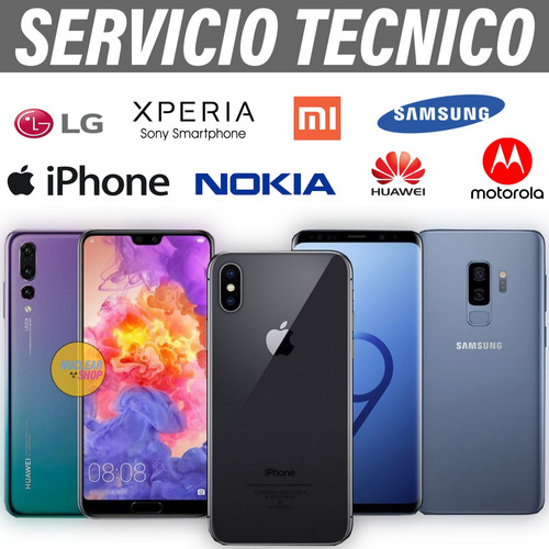 reparación de celulares - servicio técnico todas las marcas