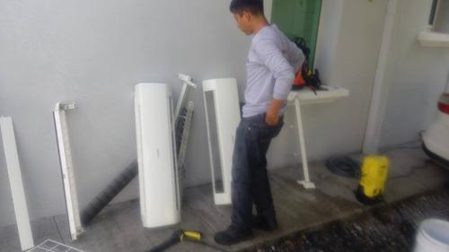 reparación de climas, clima no enfría, minisplit tira agua,