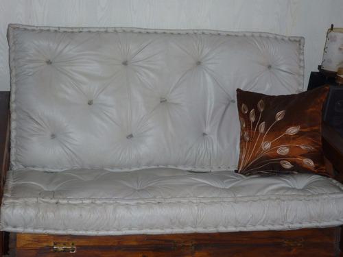 reparación de colchones de lana y de resortes, futones, etc.
