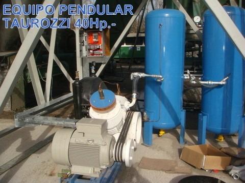 reparacion de compresor y bomba de vacio pendular taurozzi