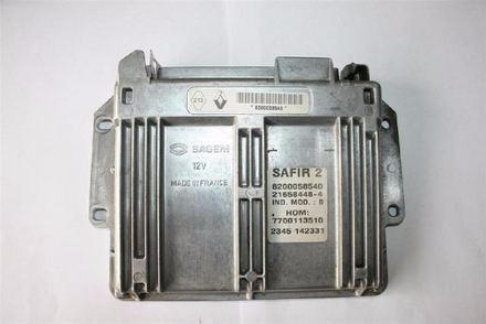reparacion de computadora  renault twingo 8v