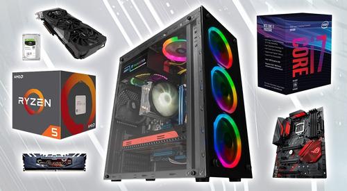 reparacion de computadoras, armado de pc gamer, display