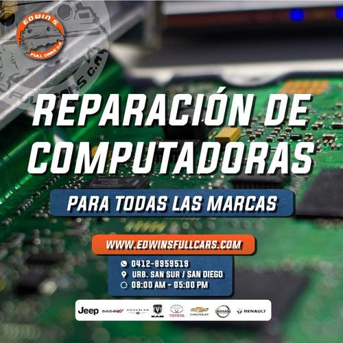 reparación de computadoras automotrices multimarca